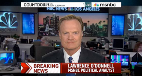 Lawrence O'Donnell seriously upset with Newsweek…