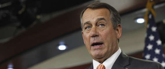 Boehner to Obama:  Take your higher taxes and shove it