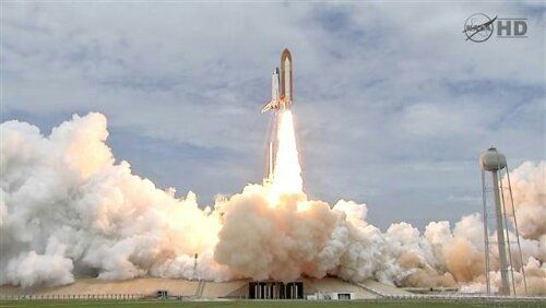 The Last Picture Of A Shuttle Takeoff You'll Ever See