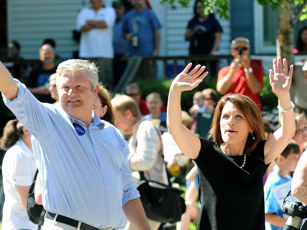Bachmann's husband and the gays are barbarians meme