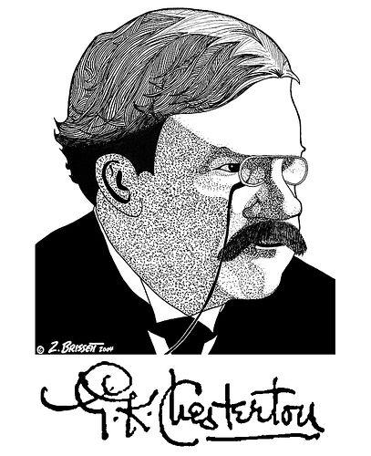 Chesterton on Tea Parties