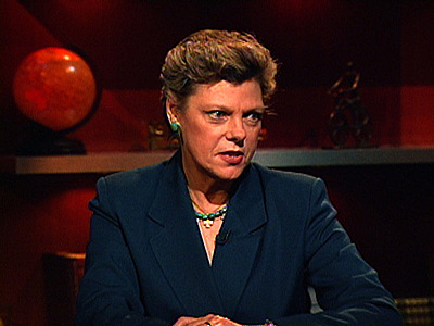 "Cokie Roberts ""...the problem that we have here is the Constitution of the United States of America..."""