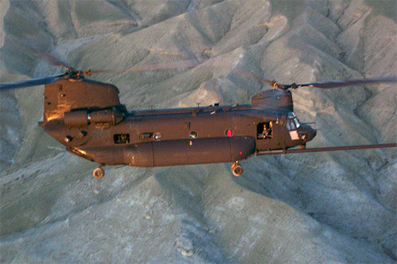 31 American troops killed in helicopter shoot down