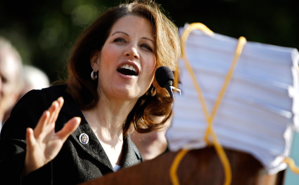 """Bye Bye Bachmann; Perry tweets """"Here we come South Carolina"""""""