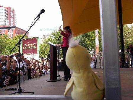 One Race Sarah Palin Won't Run