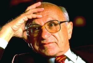 Milton Friedman discusses the Social Security Myth