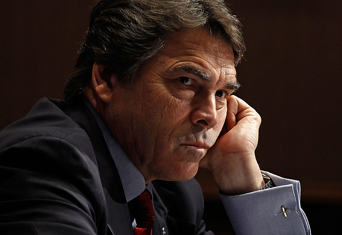 """Latest """"Rick Perry Is A Meanie"""" meme: Perry cruelly slashed funds for TX firefighters"""