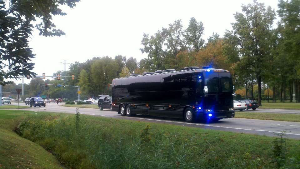 Who's paying for Obama's North Carolina/Virginia campaign bus tour?