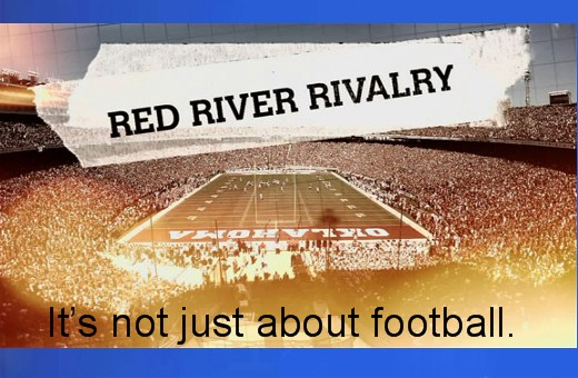 Red River Fight . . . Minus Football