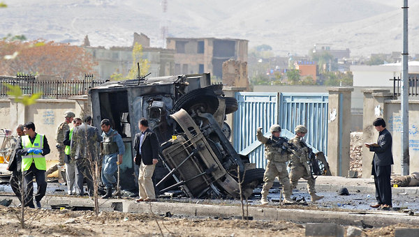 News is bad out of Afghanistan this morning