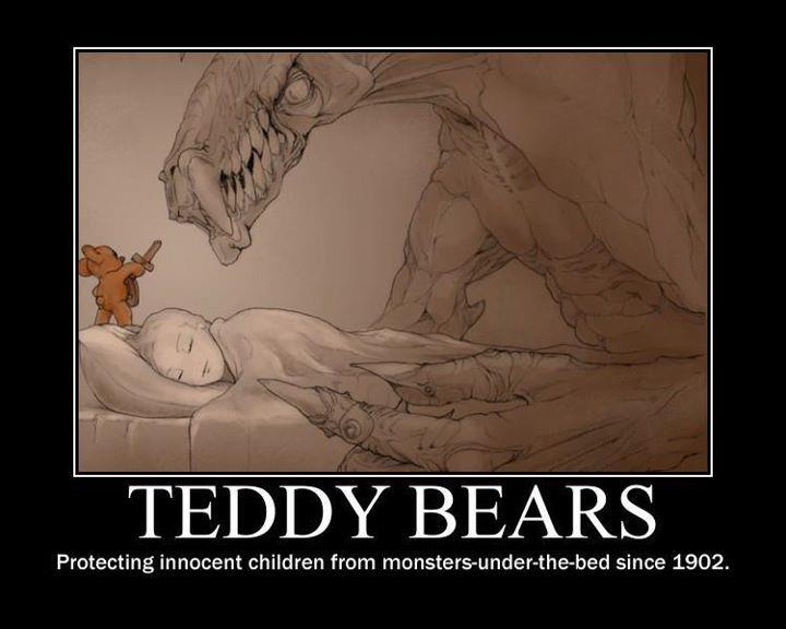 I miss my Teddy