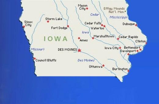 Romney, Santorum in Iowa dead heat; Ron Paul a close third