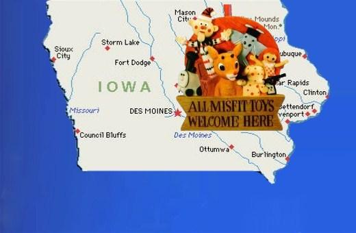 Iowa: GOP Island of Misfit Toys