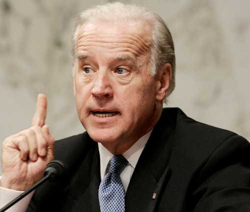 Shut Up, Biden Explains