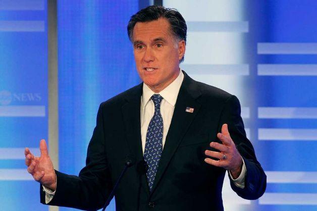 Romney vs. hypothetical liberal idiocy at NH debate