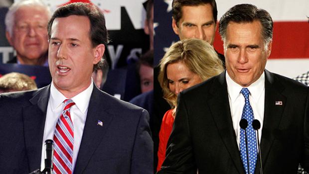 It's Romney… by a Rhino's hair