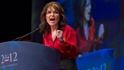 Sarah Palin Drink Big Gulp at CPAC 2013
