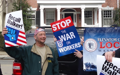 Occupy Wall Street Comes to CPAC, Unions in Command