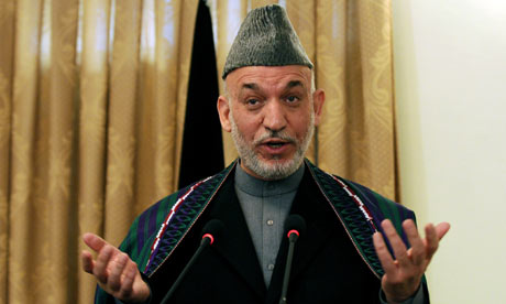 How to apologize to Karzai of Afghanistan