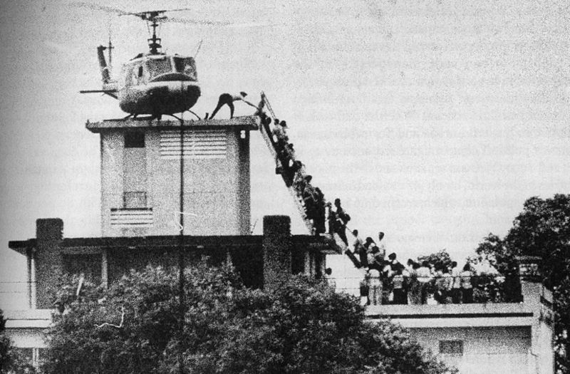 The Last Helicopter; the true legacy of the Flower Children
