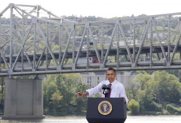 Obama Lies About Ohio Bridge Repairs For a Second Time