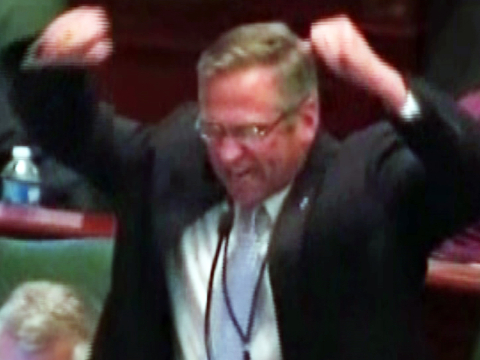 Rage in the Illinois House