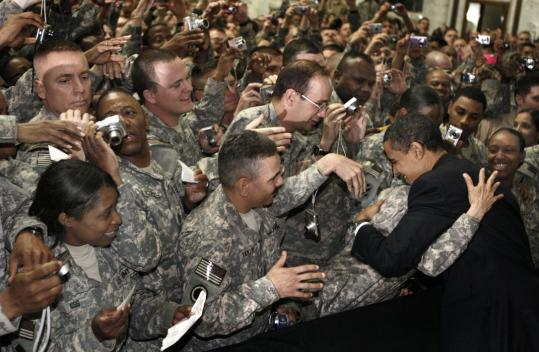 Obama's Narcissism: The Troops are Fighting for Me, Me, Me