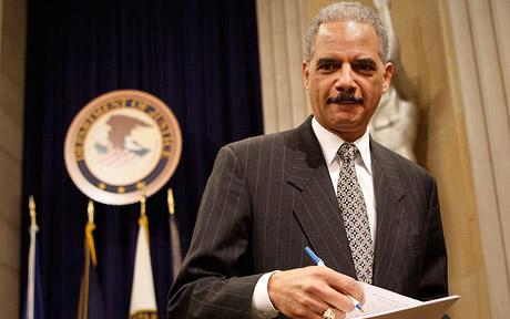 In other news, Attorney General Holder held in Contempt of Congress