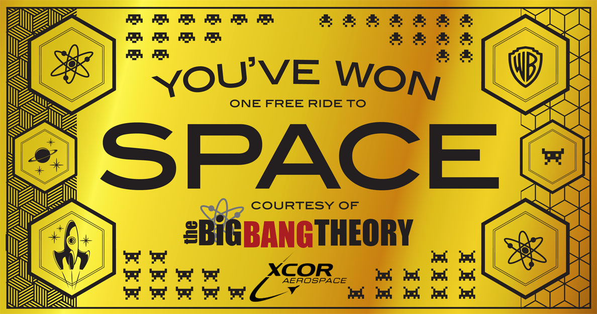 Big Bang Theory Fan Wins A Trip Into Space At Comic-Con