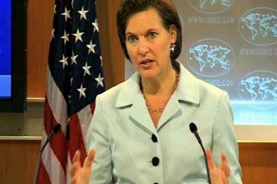 """State Department spokeswoman: """"We are not always consistent"""""""
