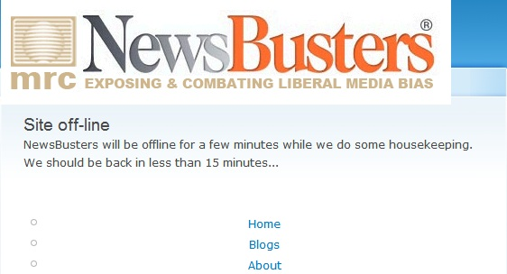 Newsbusters Hacked?