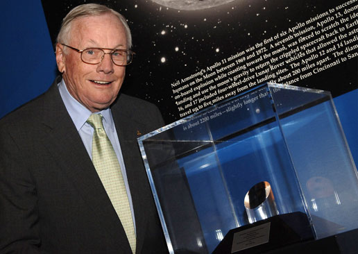 Neil Armstrong, The First Man To Walk On The Moon, Has Died