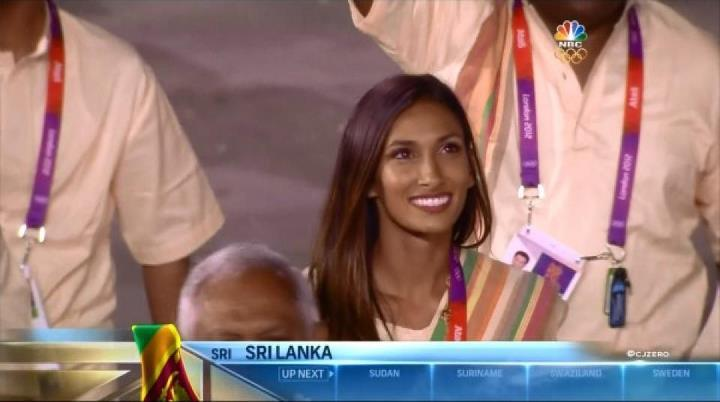 Olympic Babe Of The Day – Christine Sonali Merrill
