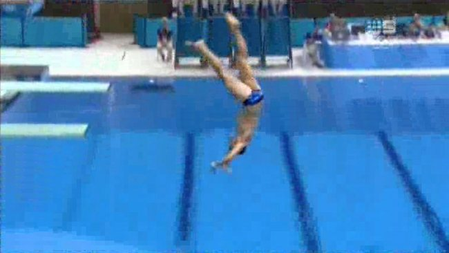 German Diver Stephan Feck's Epic Fail Olympic Backflop
