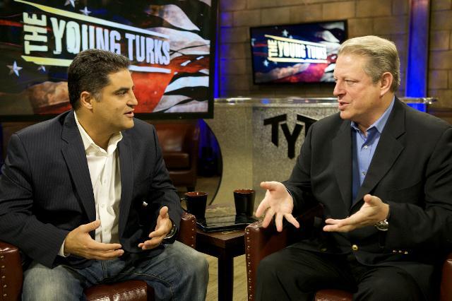 Al Gore's PR People Announce Al Gore Will Host Election Coverage On Al Gore's Network
