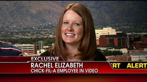 Chick-Fil-A's Rachel Elizabeth Forgives Bullying Jerk Adam Smith