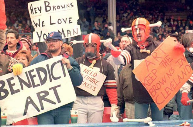 Honoring Art Modell In Cleveland Might Not End Well…