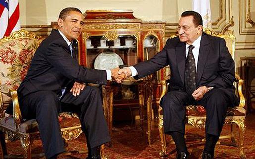 Minus Teleprompter, Obama Goes Off Script On Egypt