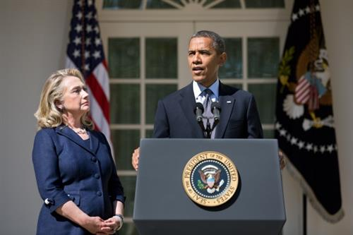 Someone Has Finally Thrown Obama Under The Bus And Her Name Is Hillary Clinton