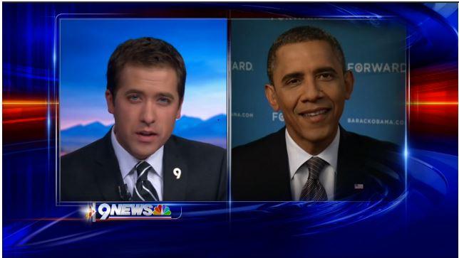 Denver News Anchor Kyle Clark Has Some Questions For President Obama