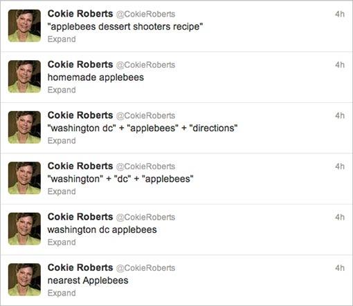 How Is Cokie Roberts Preparing For Hurricane Sandy?  Shots!