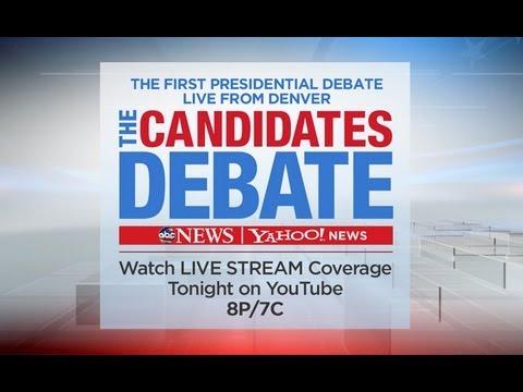 2012 Presidential Debate #1 Liveblog And Open Thread