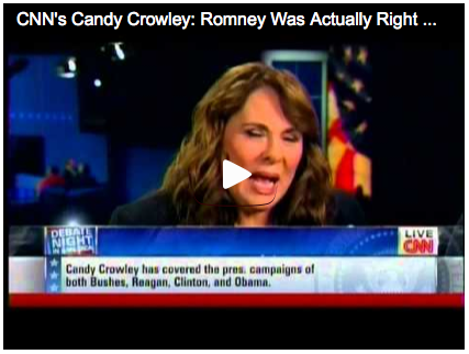 An Open Letter To Candy Crowley and the Rest of the Media
