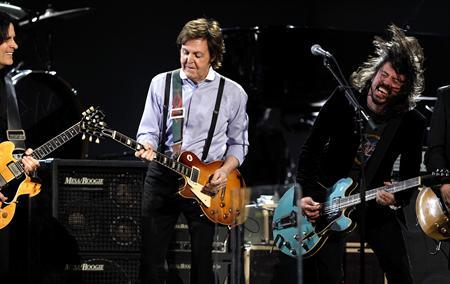 Paul McCartney To Front Nirvana Reunion At 12.12.12 Concert?