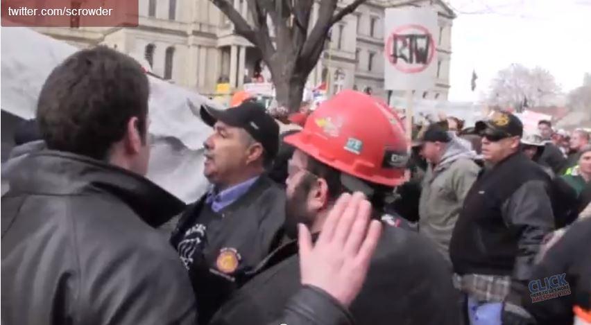 Union Thugs Attack Fox Reporter On Camera
