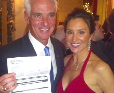 Ex Florida Guv Charlie Crist Officially Switches to Democrat Party