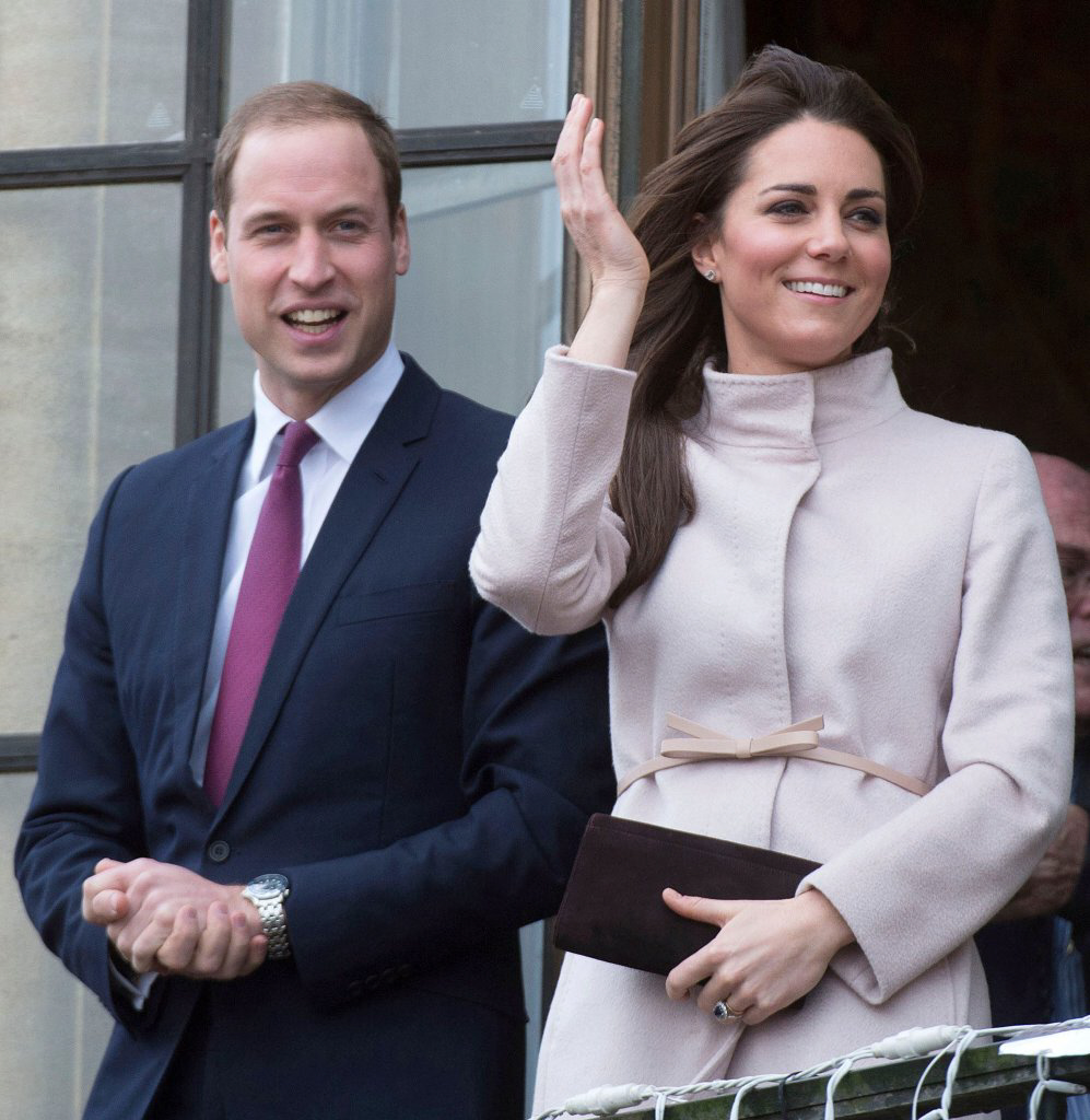 Britain's Prince William and Kate Middleton Are Royally Pregnant