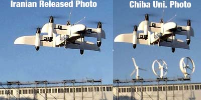 Iran Caught Photoshopping Claimed Drone Invention