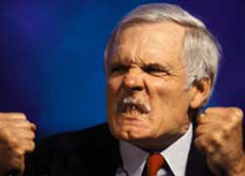 Success: Ted Turner Declares Wars 'Over With'