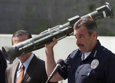 Fake News: L.A. Cops/Media Tout Rocket Launcher Seizure That Wasn't